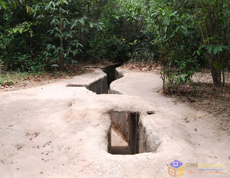 Cu Chi tunnels and Wildlife Rescue Station tour