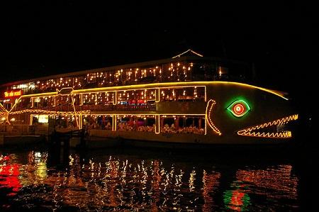 Dinner cruises on Sai Gon river